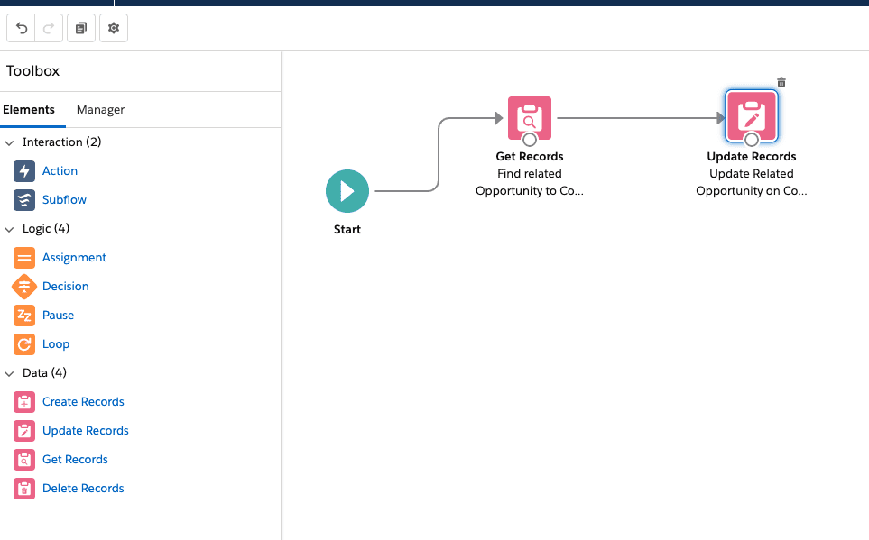 """Flow: Populate """"Related Opportunity"""" field on Contact"""
