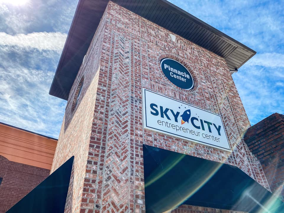 Image of the outside of Sky City
