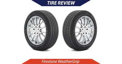 Firestone WeatherGrip Tire Review   CarShtuff
