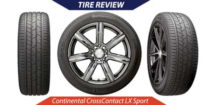 Continental CrossContact LX Sport Tire Review   CarShtuff