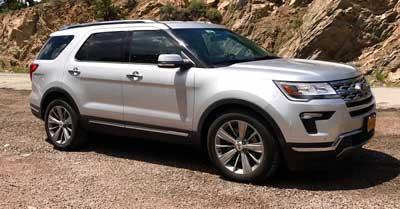 Ford Explorer OEM Tires & Wheels | CarShtuff