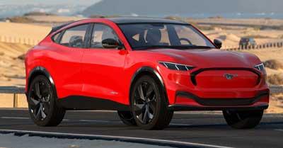Ford Mustang Mach-E OEM Tires & Wheels | CarShtuff