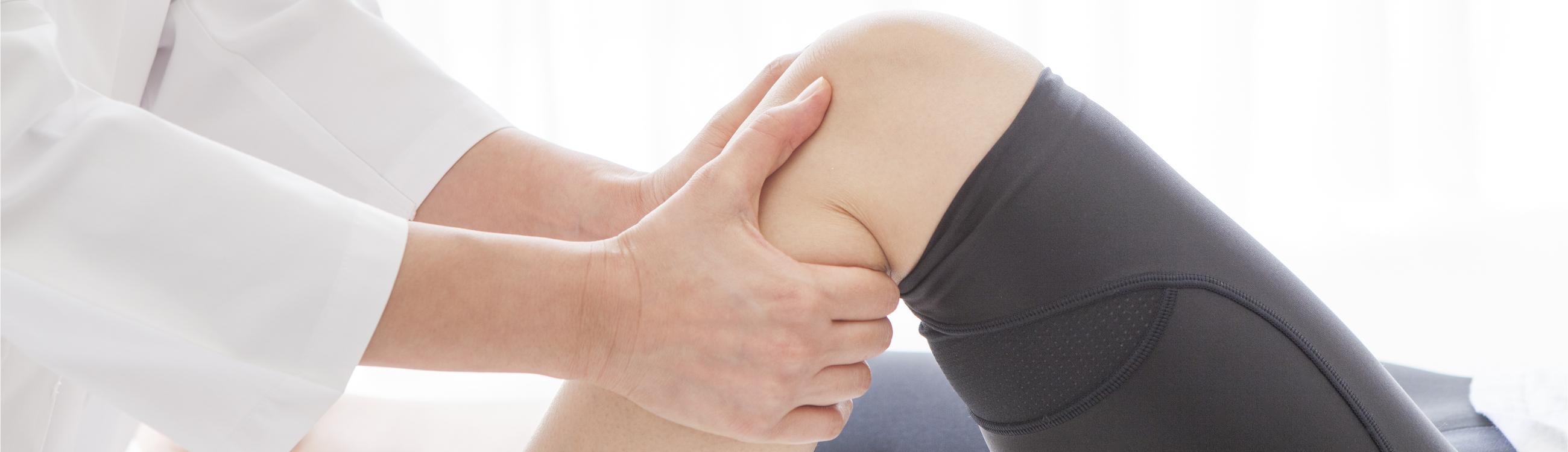 pain behind knee rehabilitation