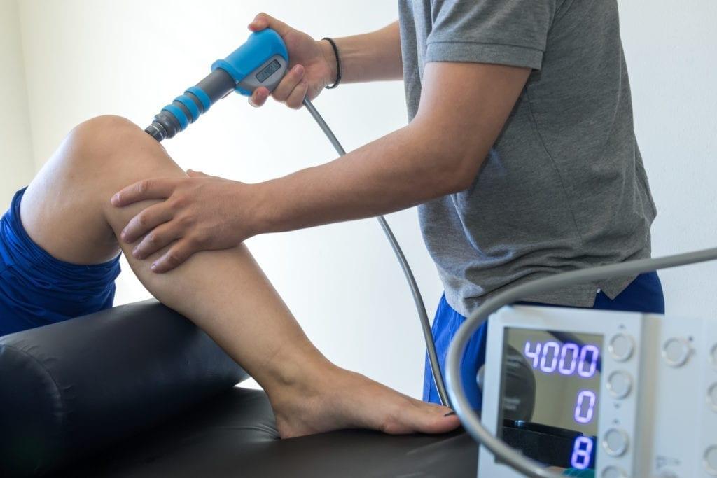 EPAT for pain behind knee