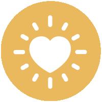 A heart icon