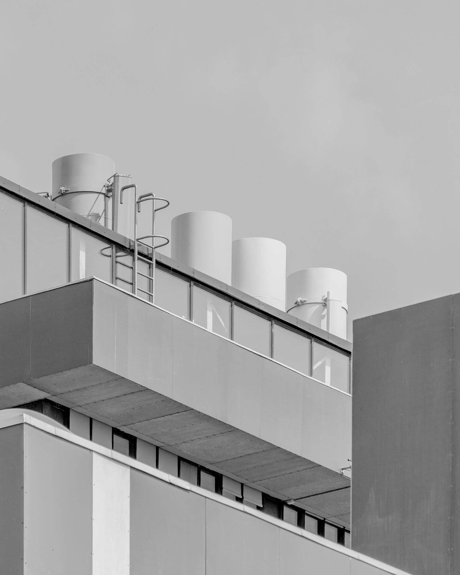 Greyscale architecture.