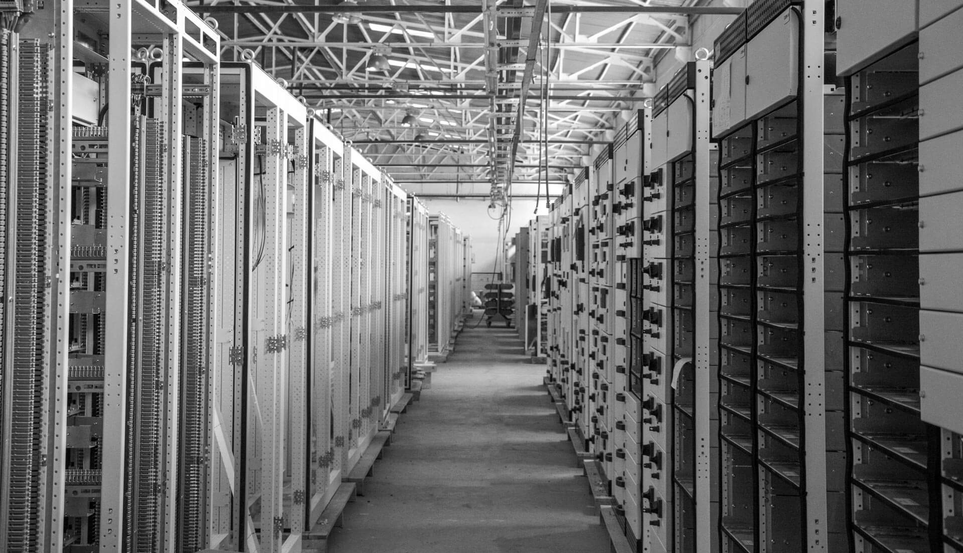 Room of machines.