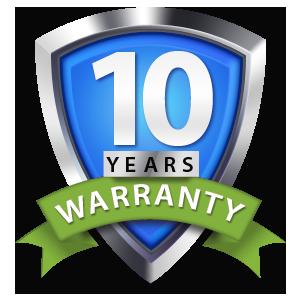 10 Year Warranty on our Heat Pumps