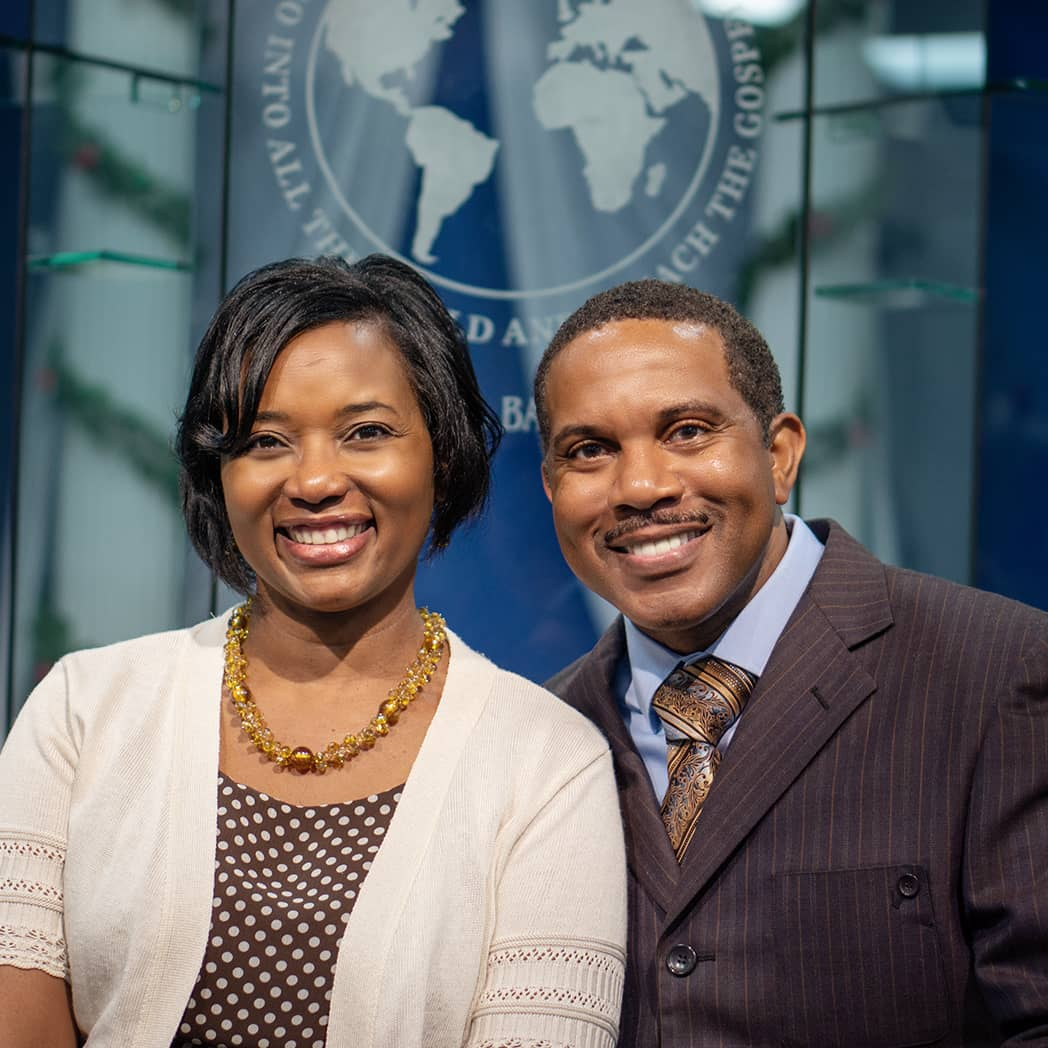 Portrait of Pastor Terry Whitaker and Zina Whiaker