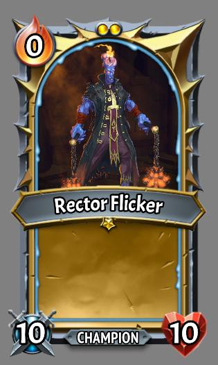 Rector flicker