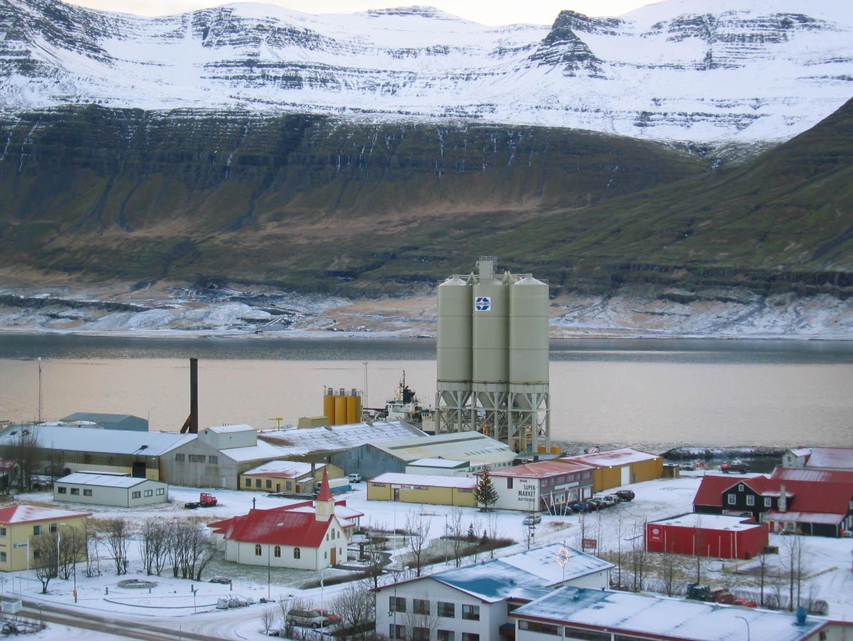 Silo prosjekt til Norcem i Island
