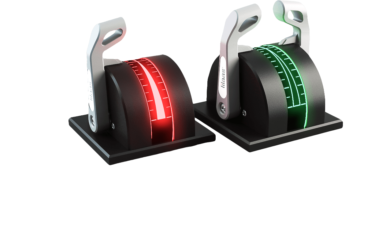 Thrusters with LED