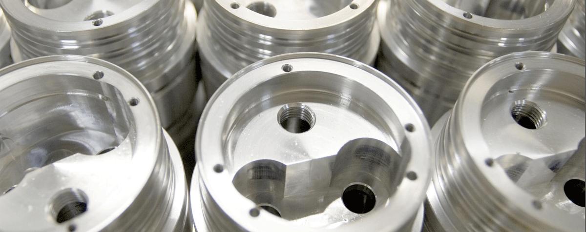 Rotary aluminium bricks ready to be sent