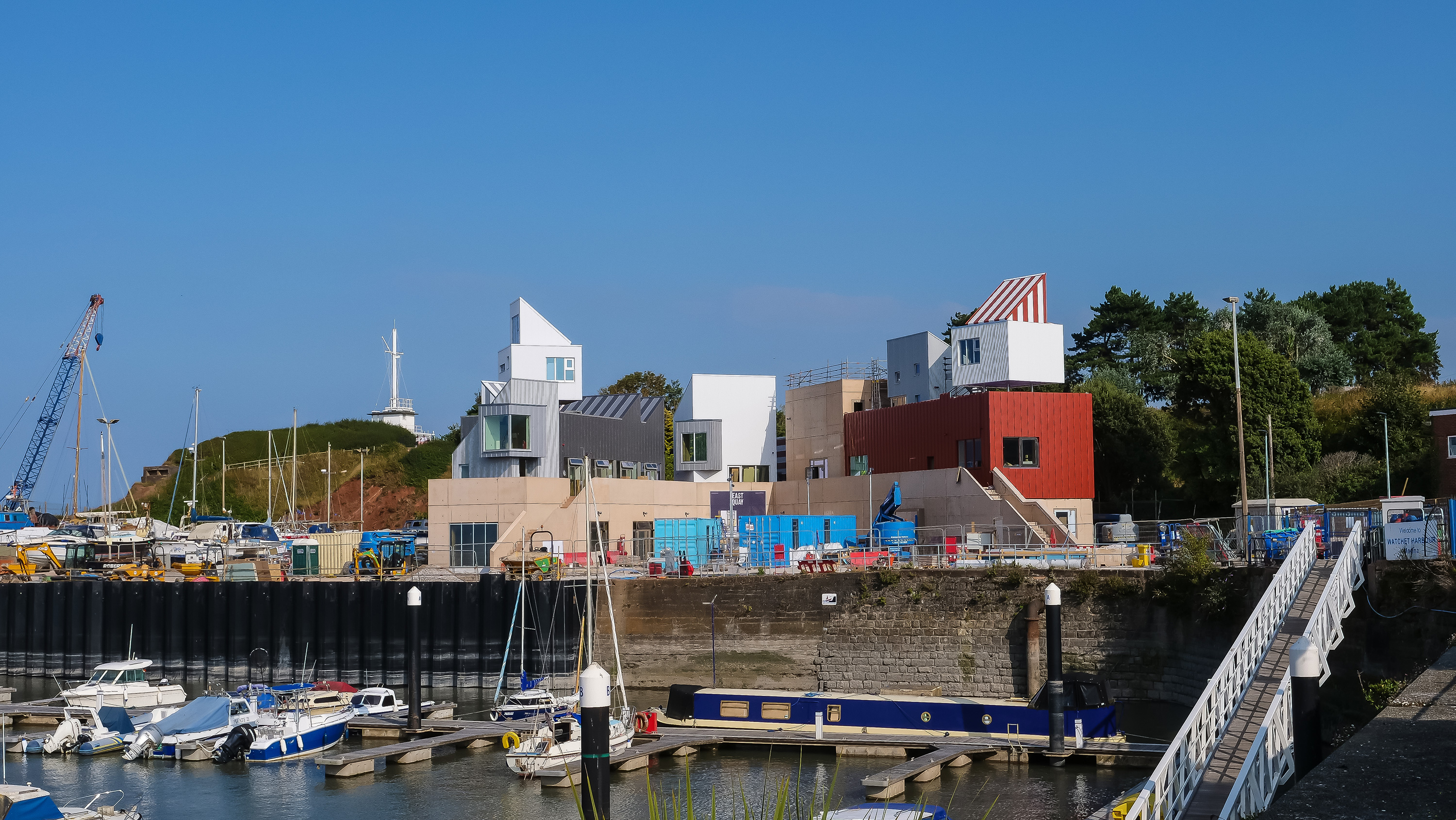 A Image of the East Quay Building.