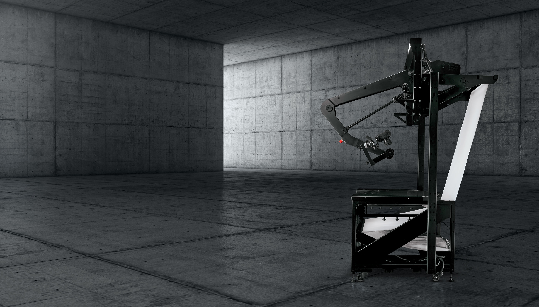 PhotoRobot VARIO مثبت على القرص الدوار التصوير الفوتوغرافي