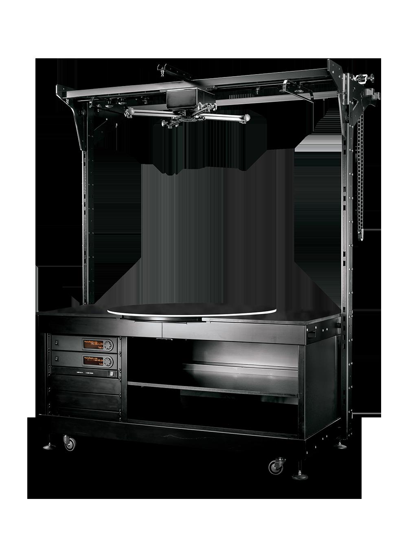 PhotoRobot Tavola girevole con telaio per accessori integrato