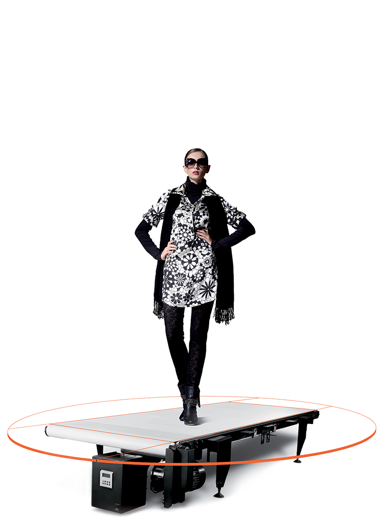 "PhotoRobot 步行带--局部图--""裸体""机器"