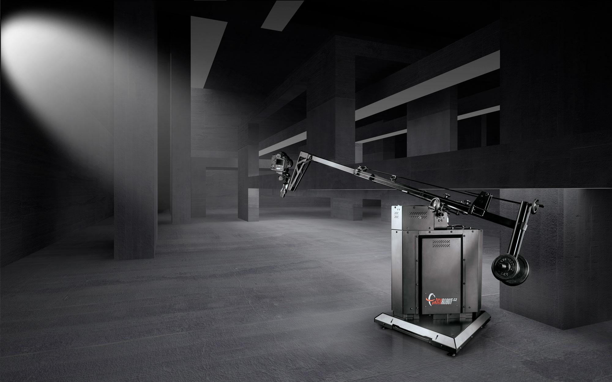 PhotoRobot ROBOTIC ARM مع خلفية الاستوديو