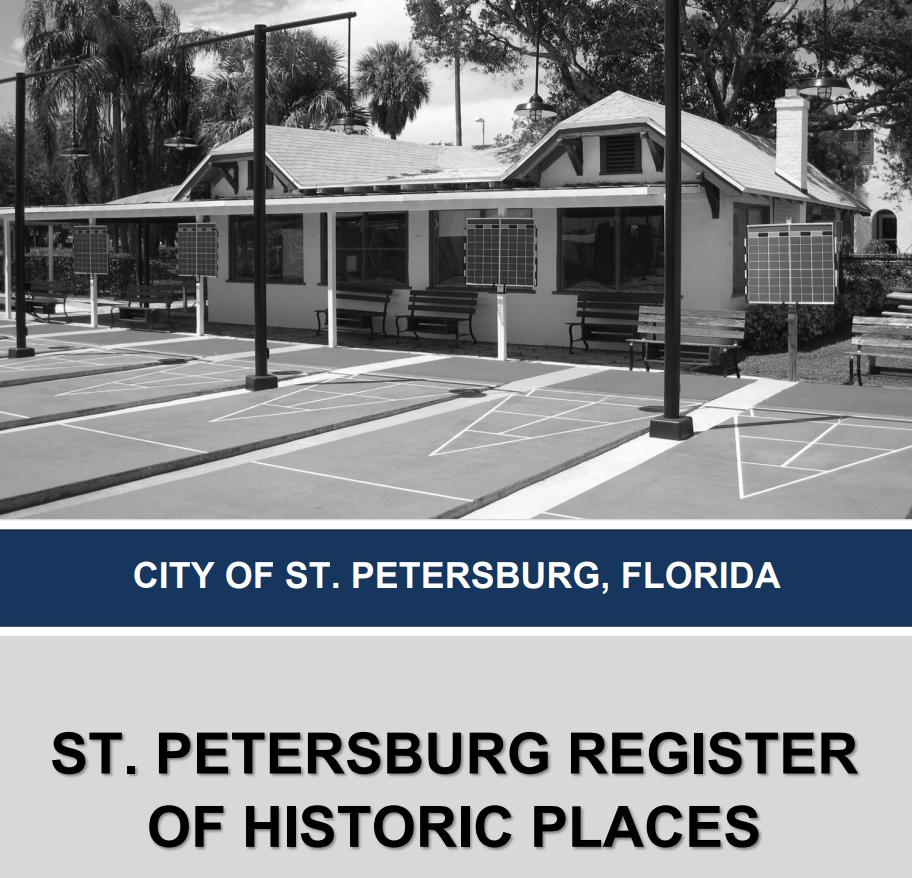 One of the historic landmarks of St. Petersburg, Florida