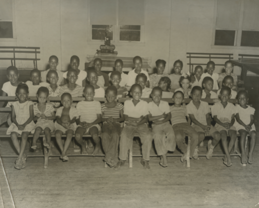 Pictures of children at the Melrose YMCA