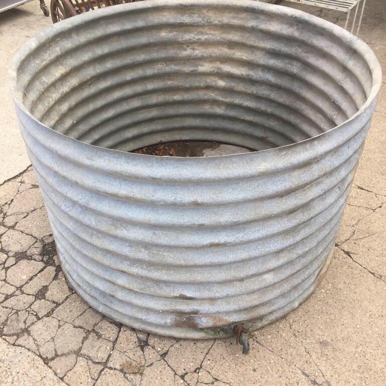 Large Galvanised Tub