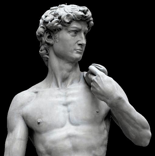 Warehams statue of David