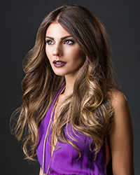 HOLLYWOOD CHIC FORMAL HAIR STYLE: LOOSE, ROMANTIC WAVES