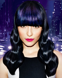 MIDNIGHT BLUE LUXE BLUR HAIRCOLOR