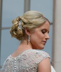 Megan Verteramo Wedding Day Hair