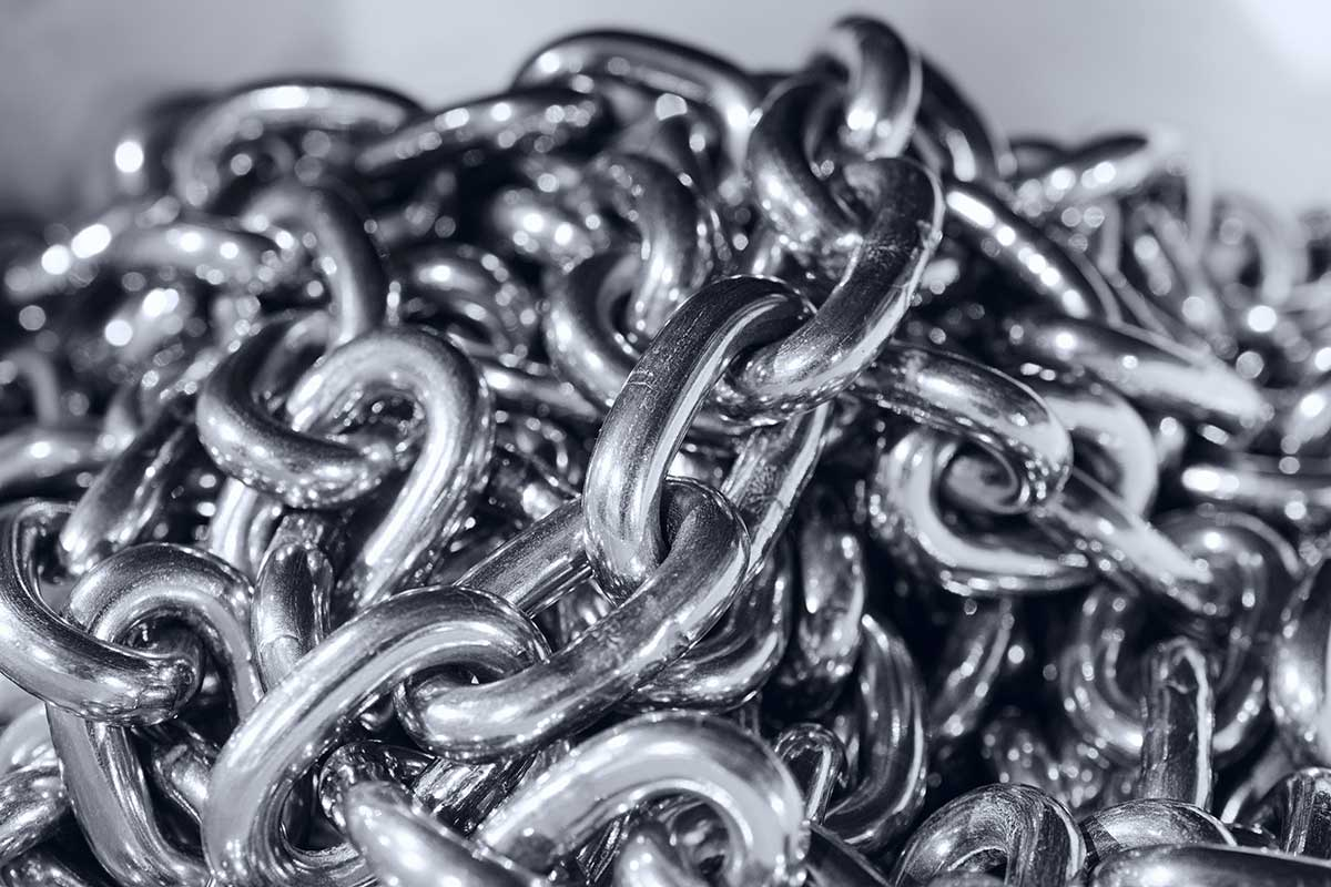 Stainless Steel Chain: 304 grade and 316 grade
