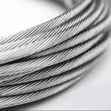 stainless steel 316 grade strand wire rope cable