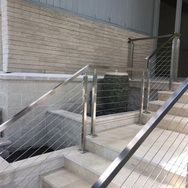 Stainless Steel Deck Railing Cable and Hardware