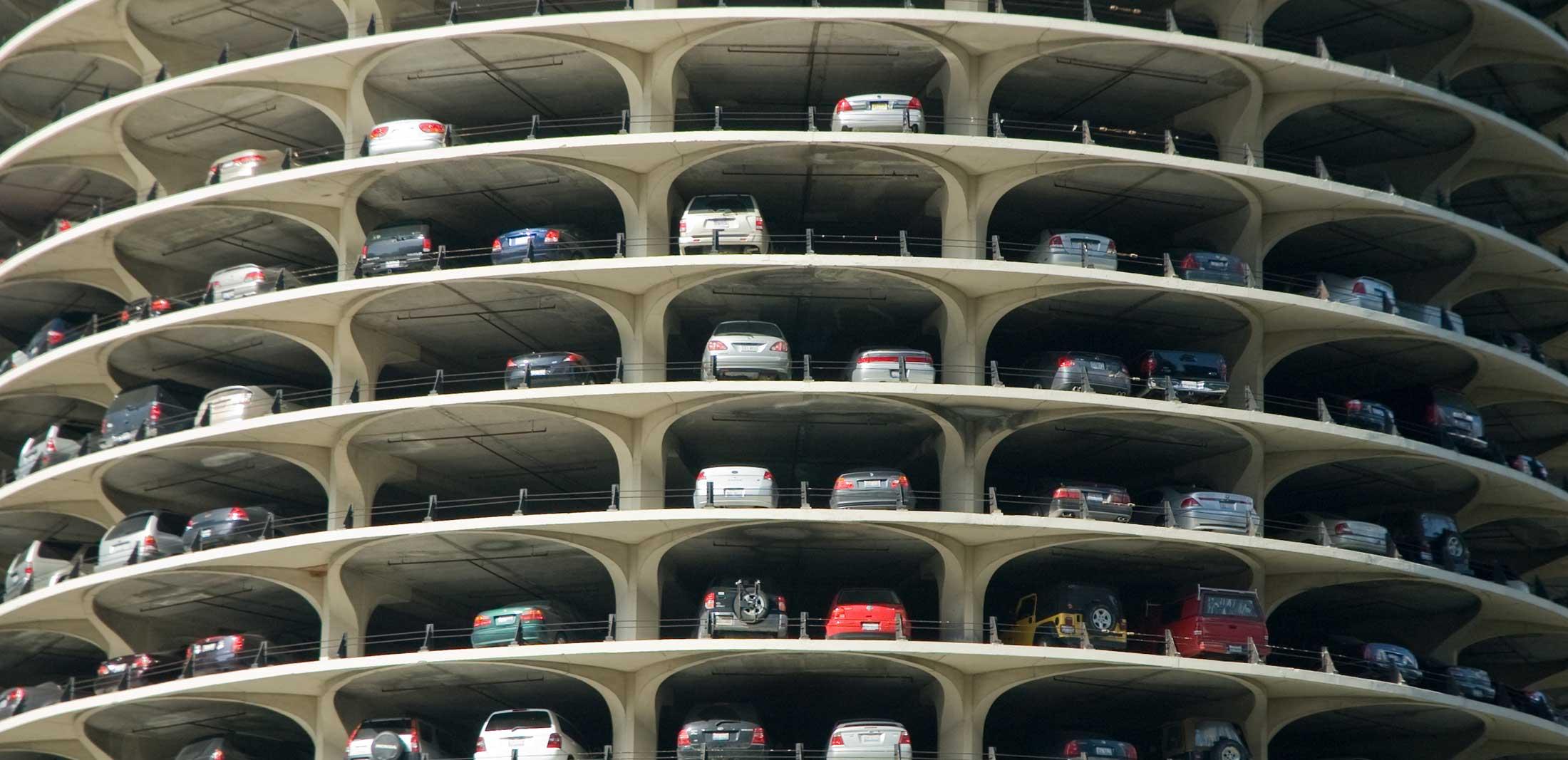 Parking Garage Barrier System
