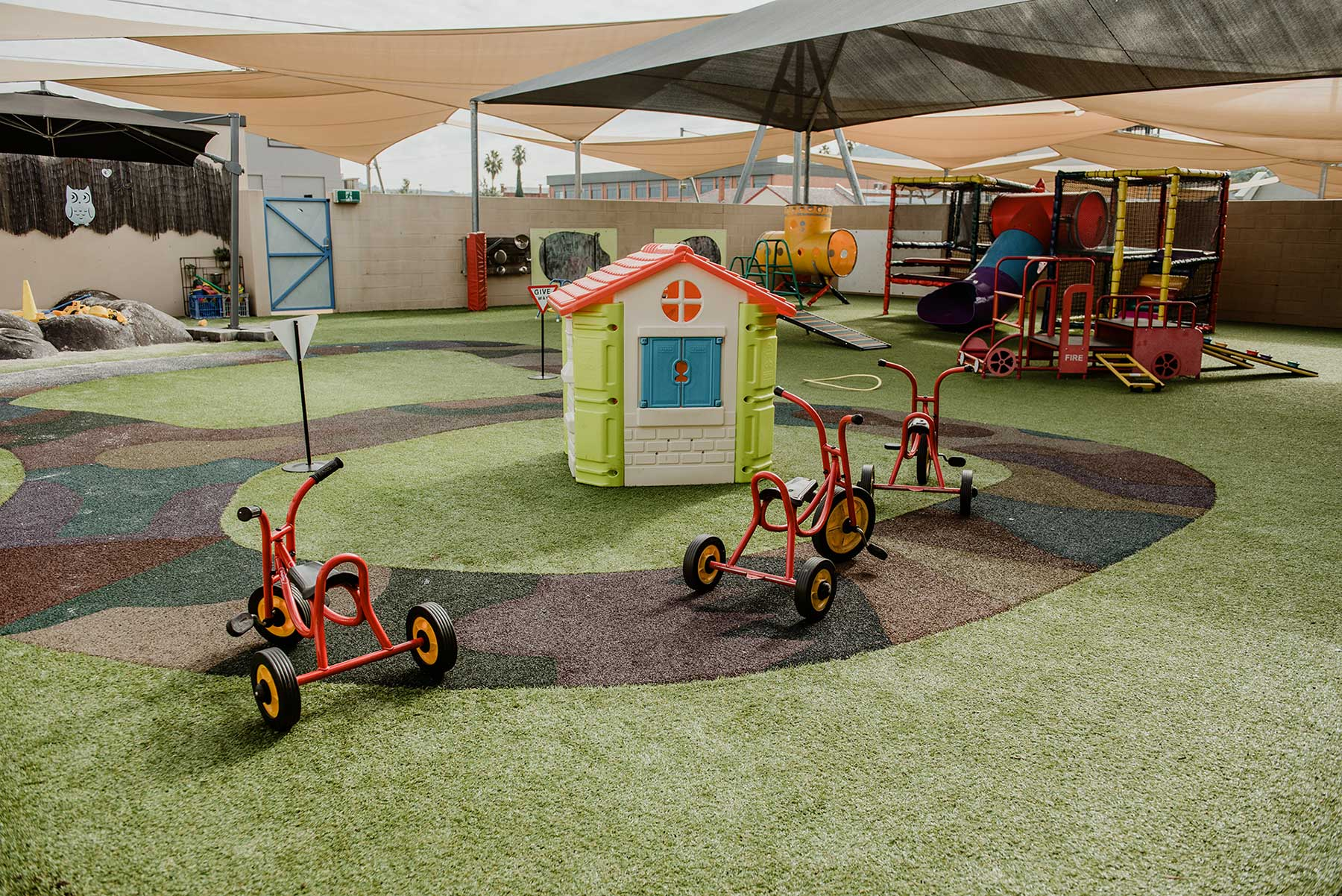 centrepoint childcare centre outdoor play ground