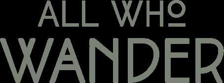 All Who Wander Wedding Dress Designer Logo