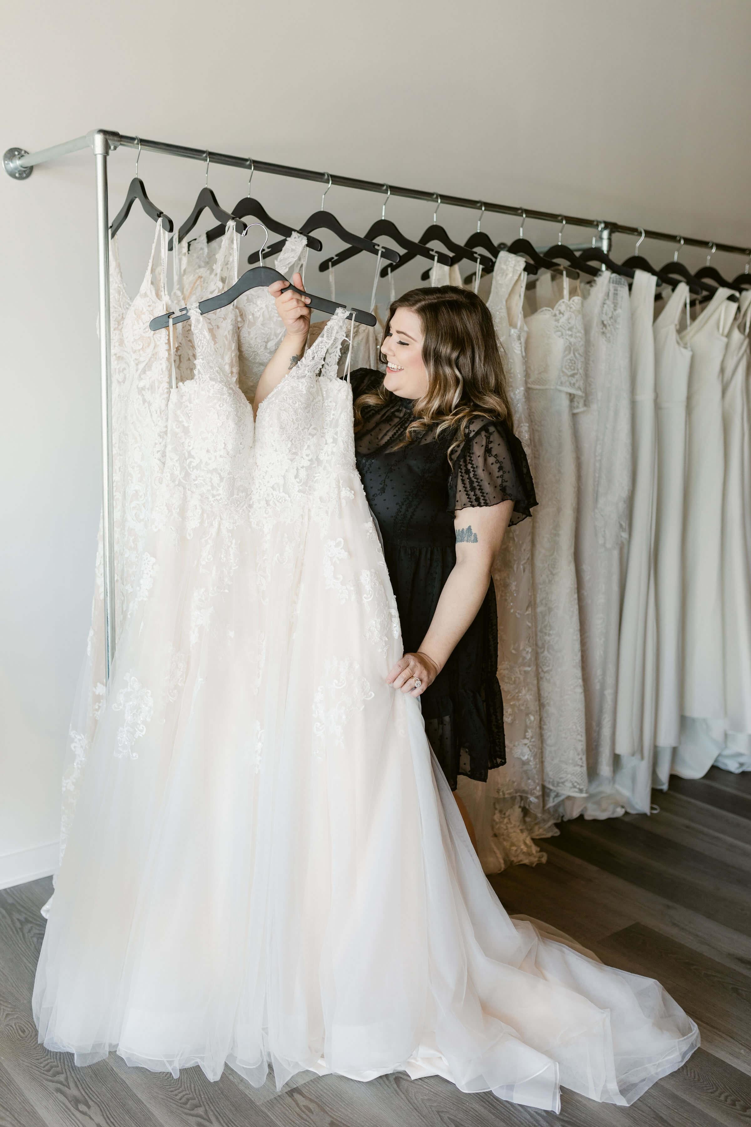 Curve Bridal Collection Wedding Dress