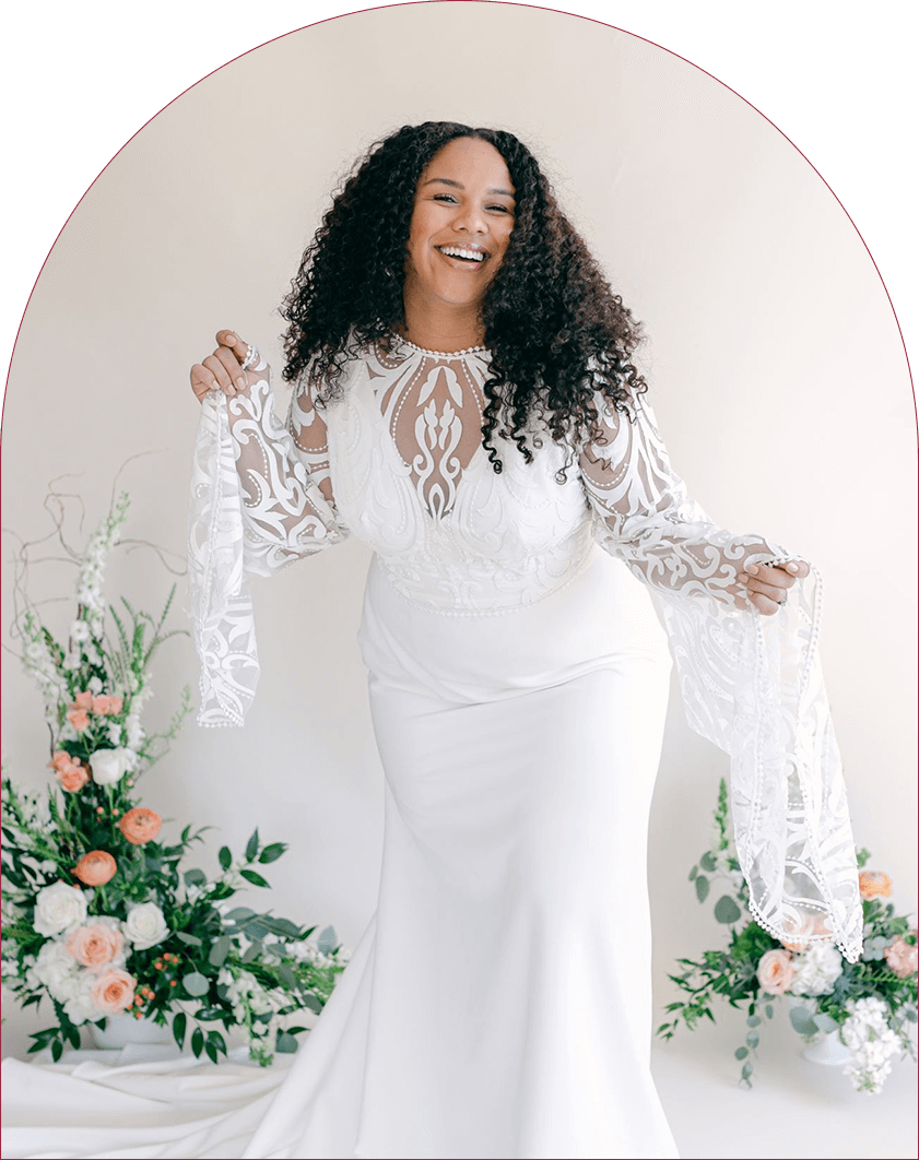 Curve Bridal Collection All Who Wander Wedding Dress