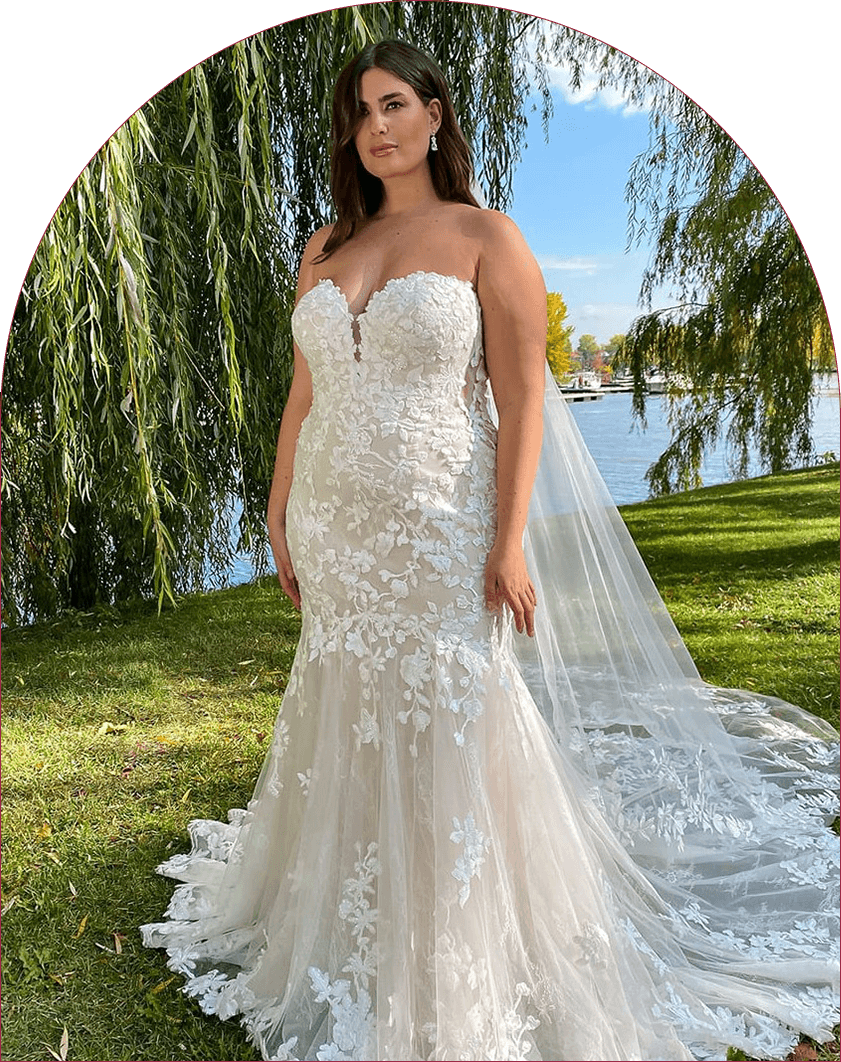 Curve Bridal Collection Eddy K Wedding Dress