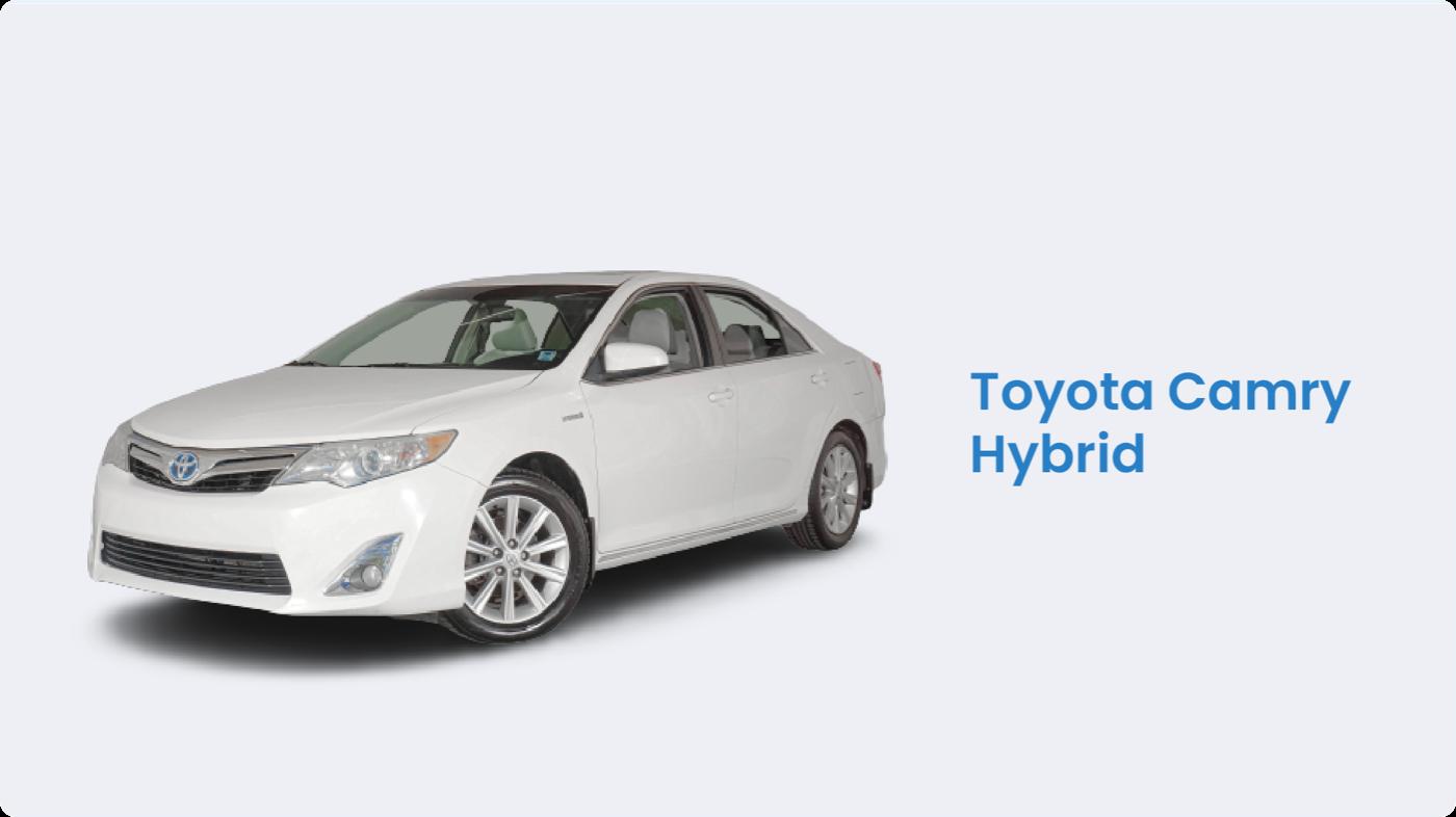Hybrid cars Canada: Toyota Camry