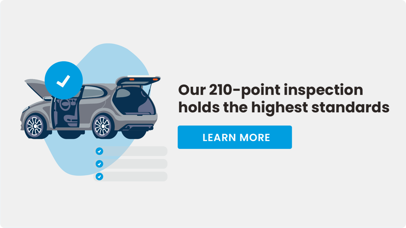Get a certified pre-owned vehicle with Clutch in Canada