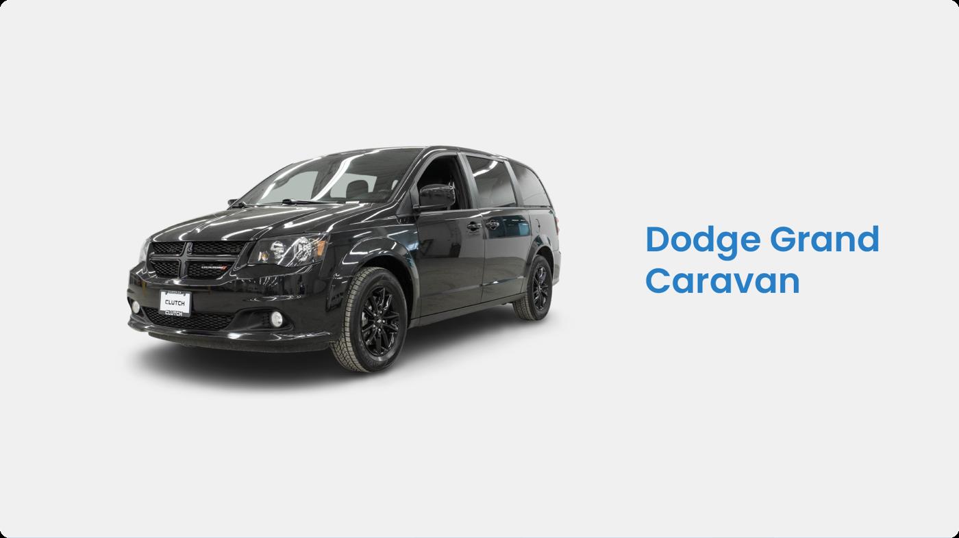 Clutch: Dodge Grand Caravan