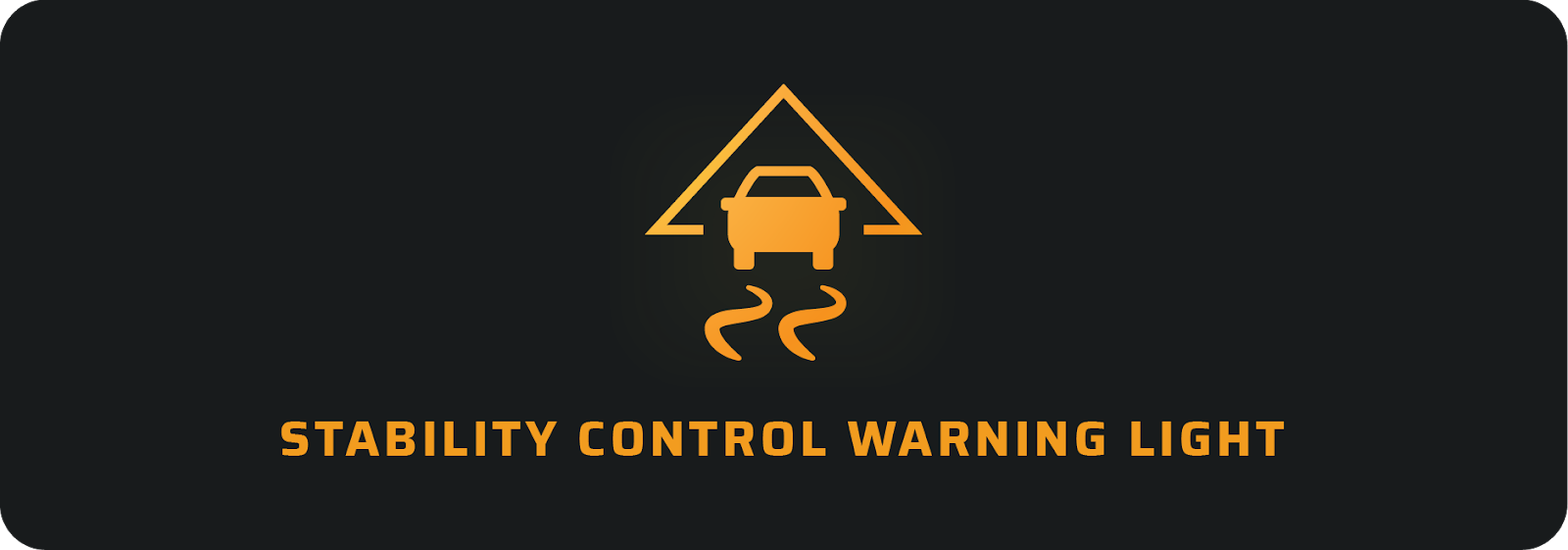 Stability control warning light