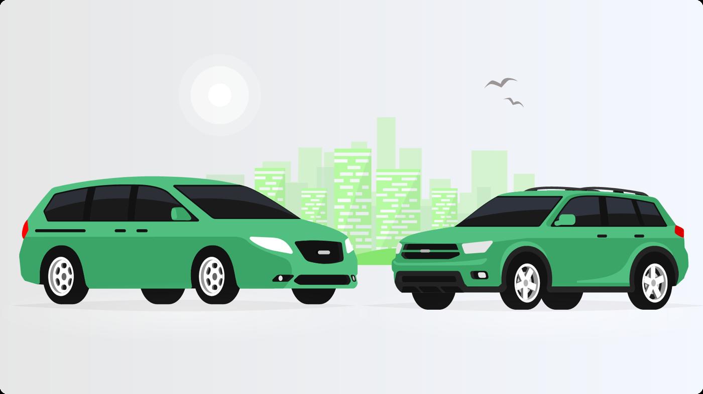 Minivan vs. SUV: Both vehicle types offer good fuel economy