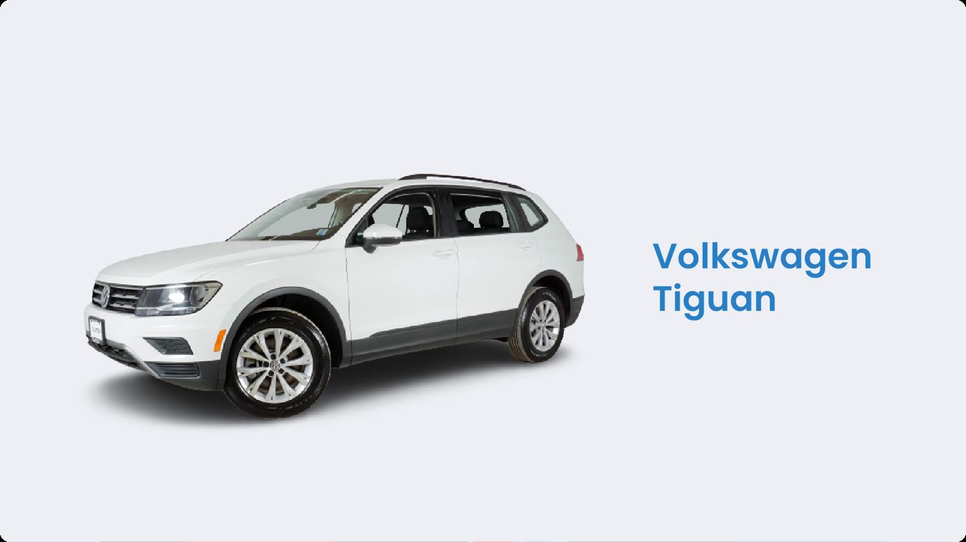Best SUV on a budget: Volkswagen Tiguan
