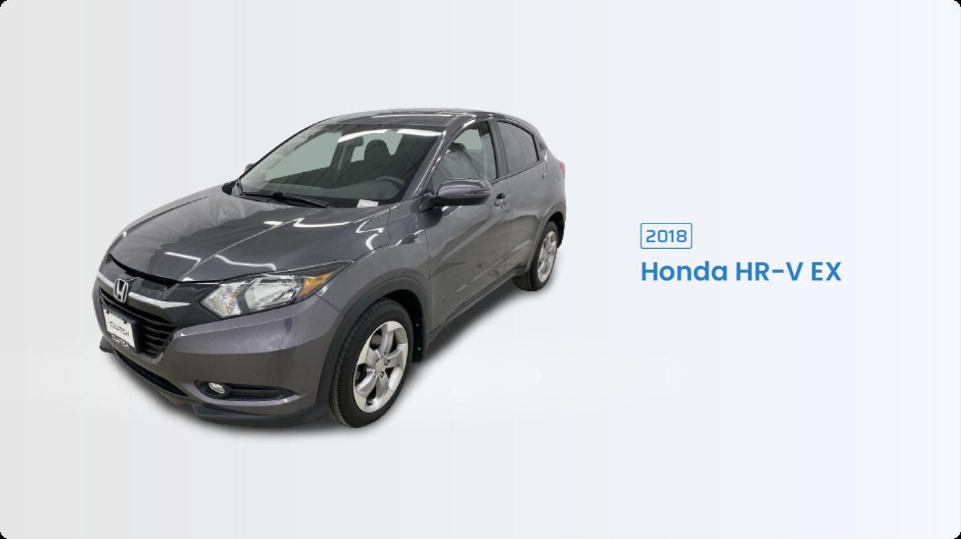 Most Fuel Efficient SUV: 2018 Honda HR-V EX