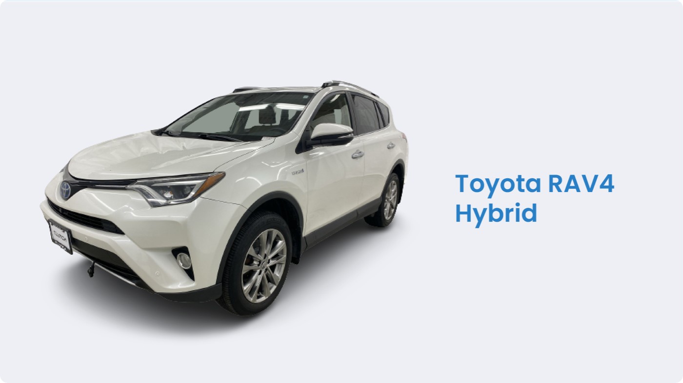 Toyota RAV4 Hybrid is among the top hybrid cars Canada
