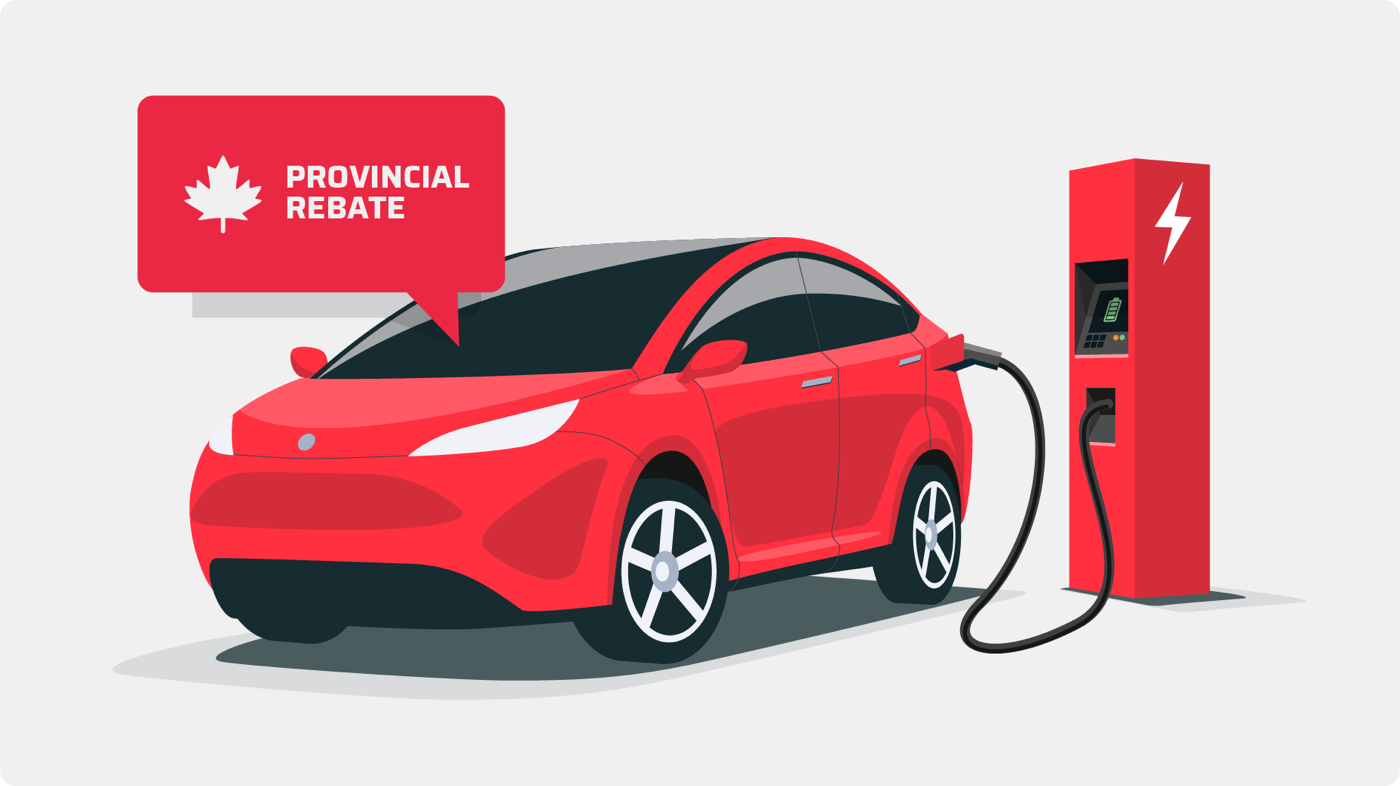 Provincial rebate for electric vehicles