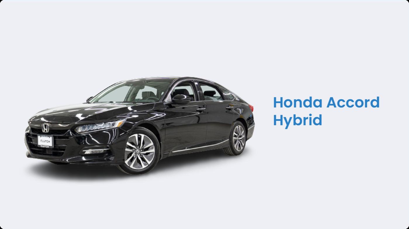 Hybrid cars Canada: Honda Accord Hybrid