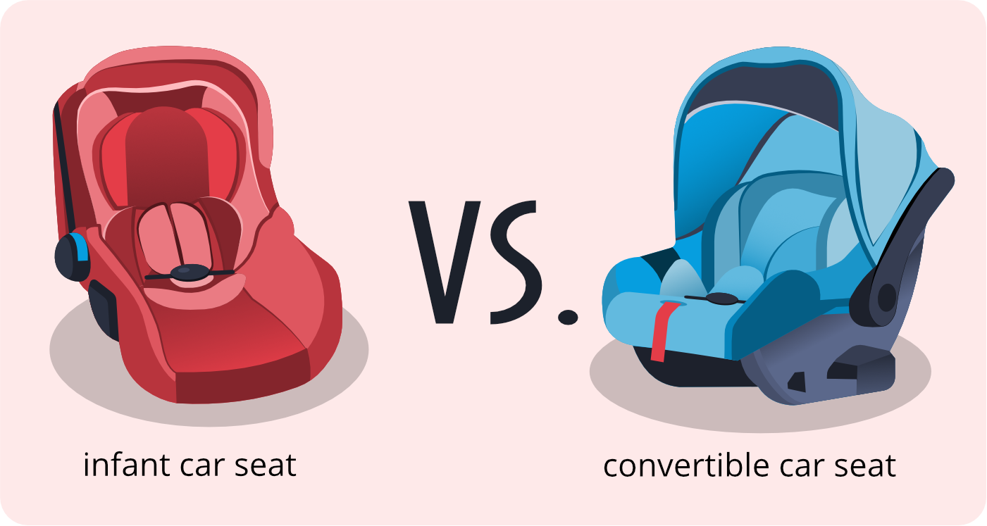 infant car seat and convertible car sear