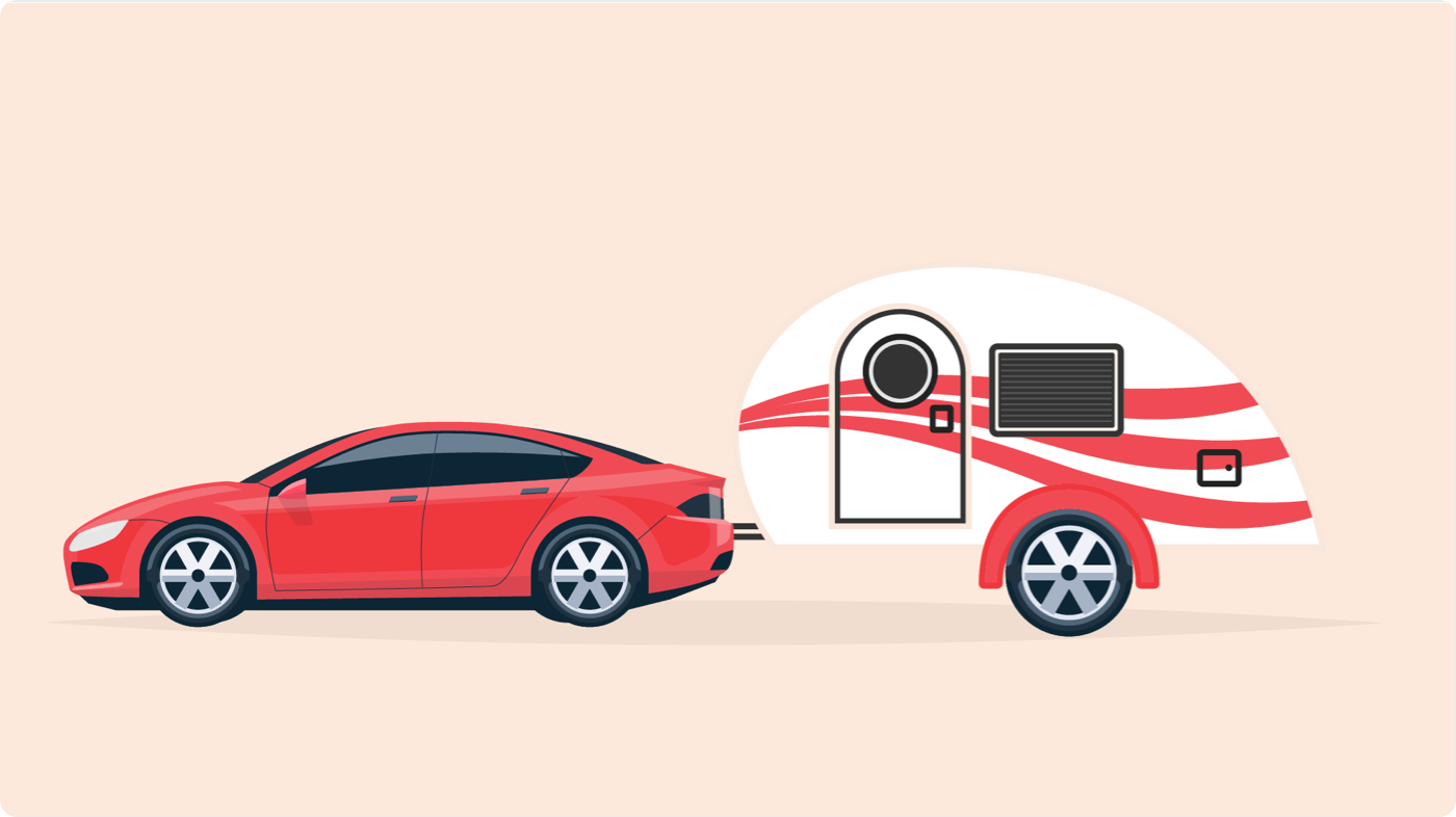 Tesla with towing capacity for a small trailer